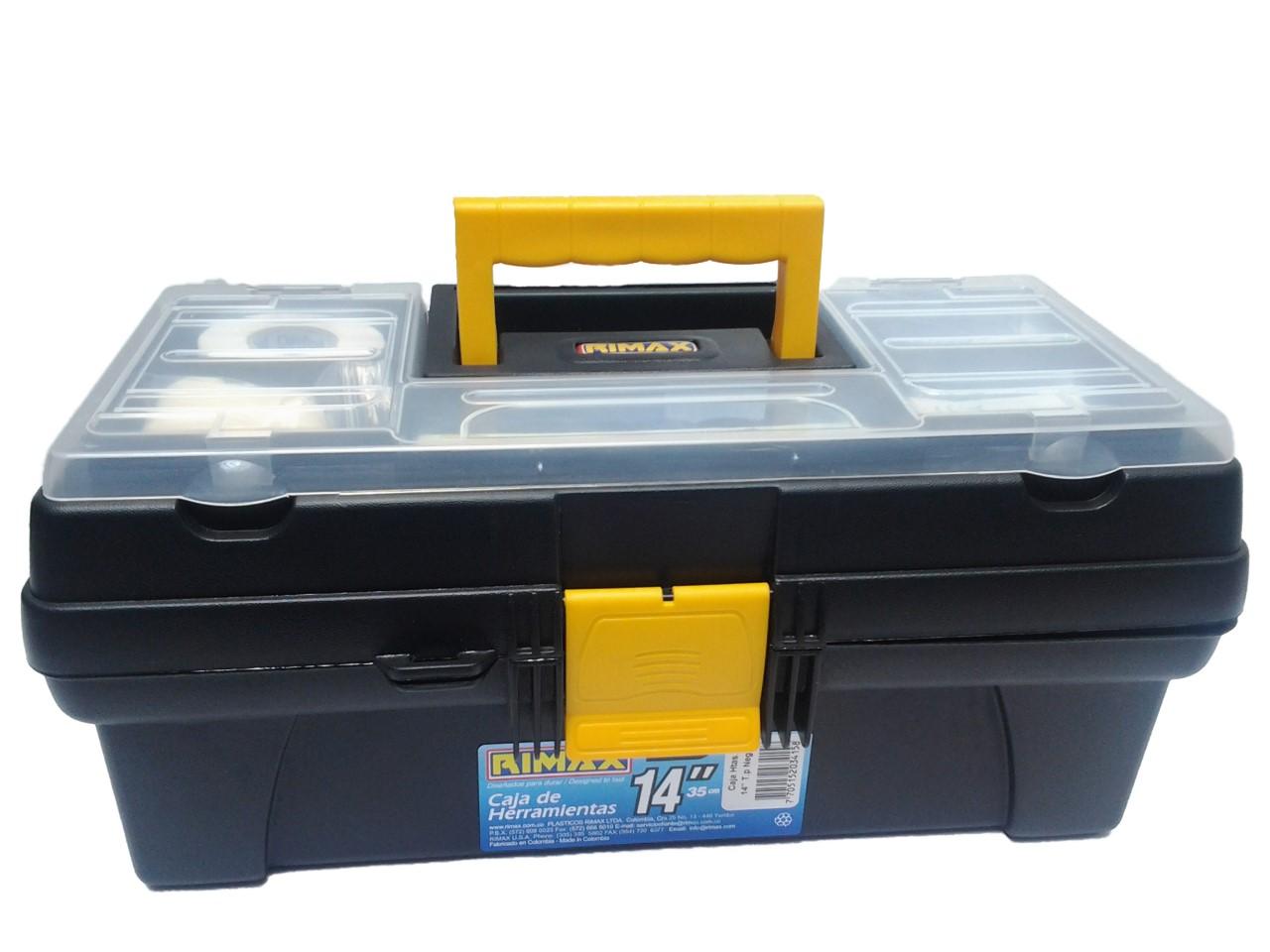botiquin caja plastica rimax 14